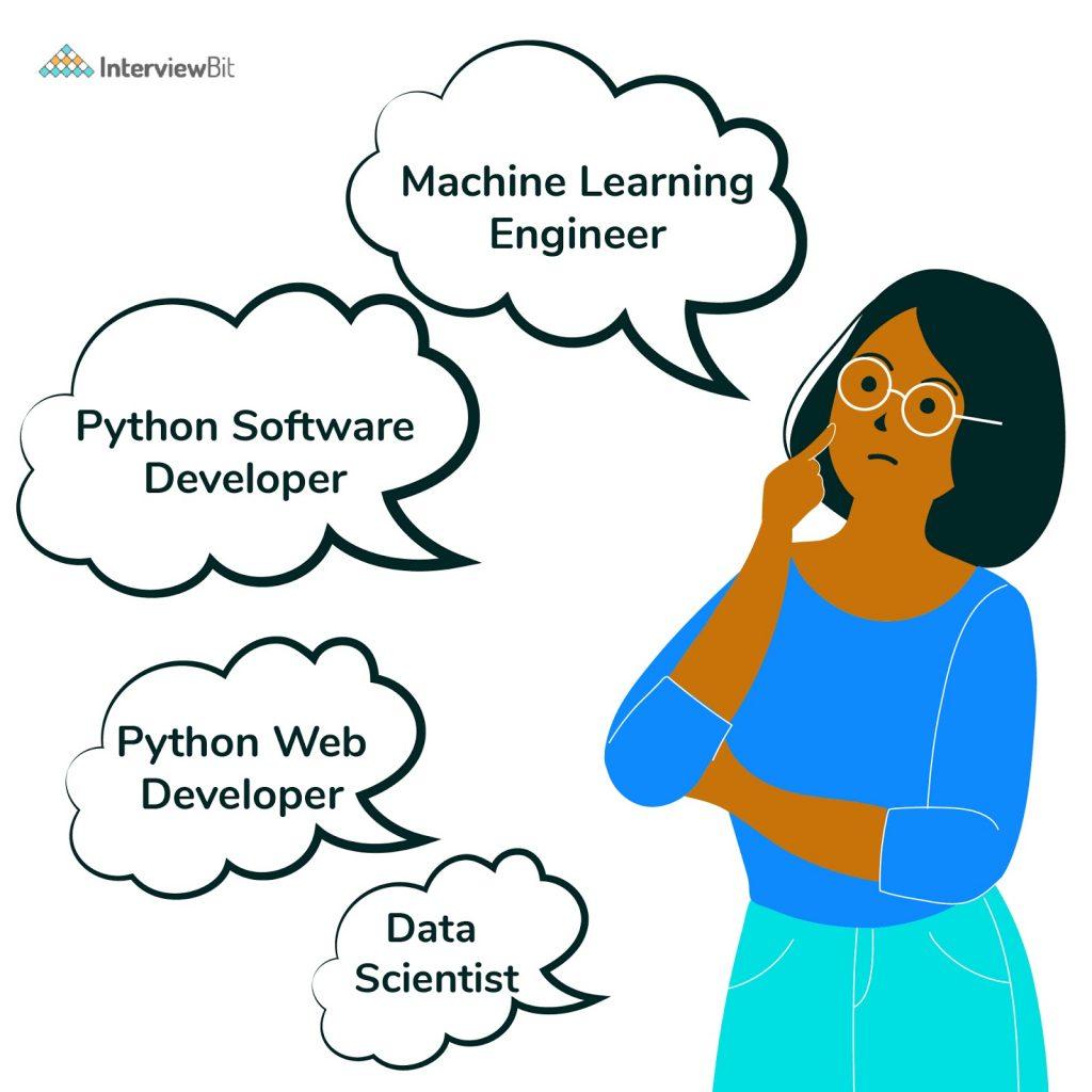 Python job roles
