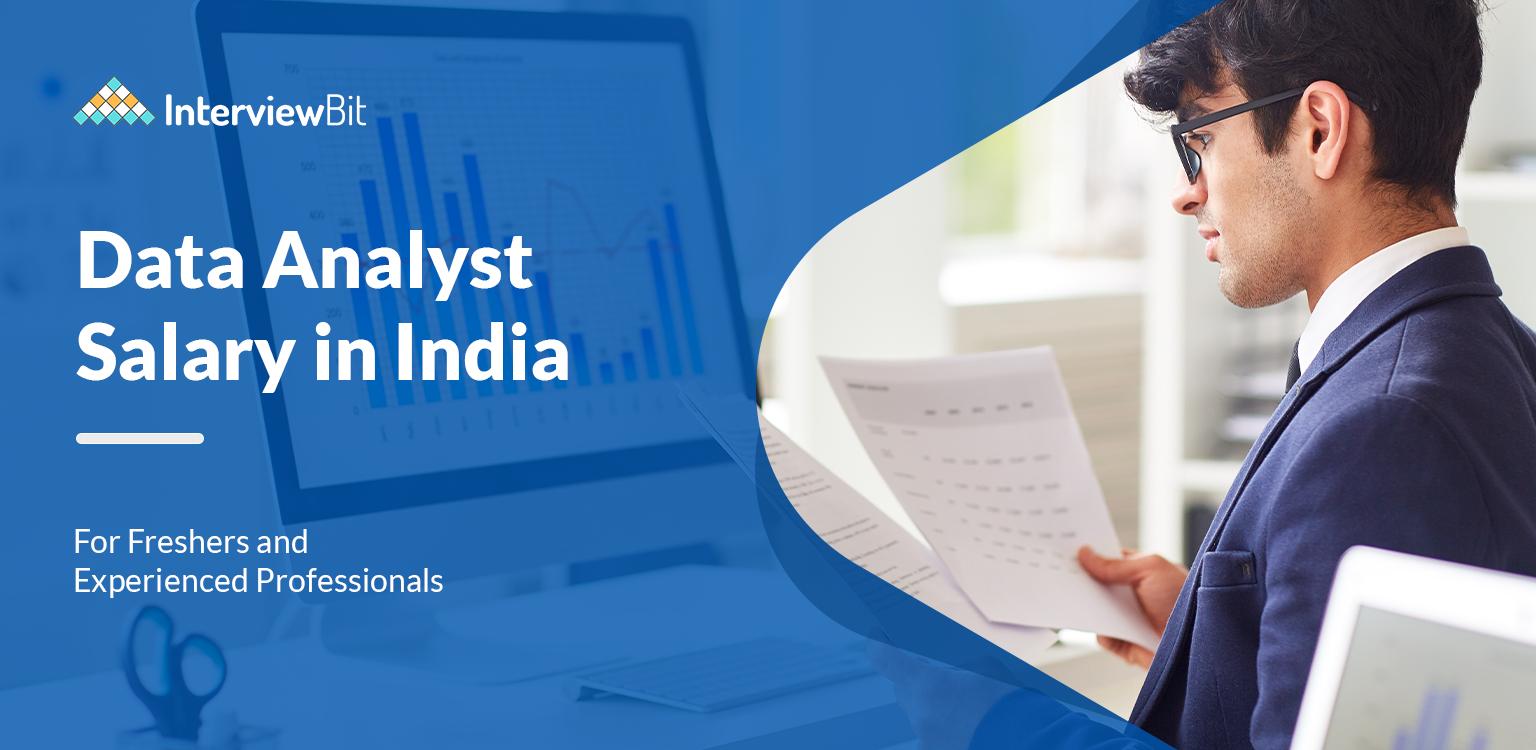 data analyst salary in india