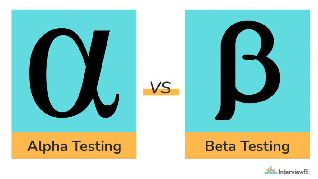 differences between alpha and beta testing
